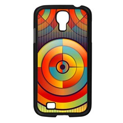 Abstract Pattern Background Samsung Galaxy S4 I9500/ I9505 Case (black)