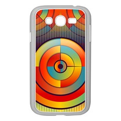 Abstract Pattern Background Samsung Galaxy Grand DUOS I9082 Case (White)