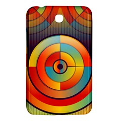 Abstract Pattern Background Samsung Galaxy Tab 3 (7 ) P3200 Hardshell Case