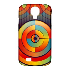 Abstract Pattern Background Samsung Galaxy S4 Classic Hardshell Case (PC+Silicone)