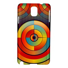 Abstract Pattern Background Samsung Galaxy Note 3 N9005 Hardshell Case