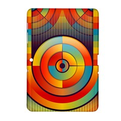 Abstract Pattern Background Samsung Galaxy Tab 2 (10.1 ) P5100 Hardshell Case
