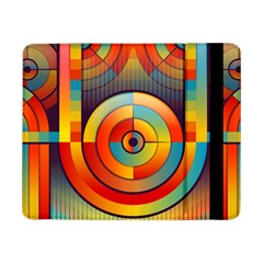 Abstract Pattern Background Samsung Galaxy Tab Pro 8 4  Flip Case