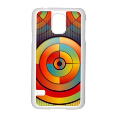 Abstract Pattern Background Samsung Galaxy S5 Case (white)