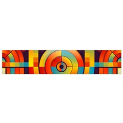 Abstract Pattern Background Flano Scarf (small)