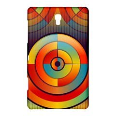 Abstract Pattern Background Samsung Galaxy Tab S (8 4 ) Hardshell Case