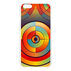 Abstract Pattern Background Apple Seamless iPhone 6 Plus/6S Plus Case (Transparent)