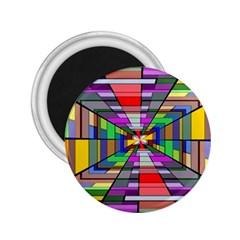 Art Vanishing Point Vortex 3d 2.25  Magnets