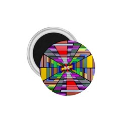 Art Vanishing Point Vortex 3d 1.75  Magnets