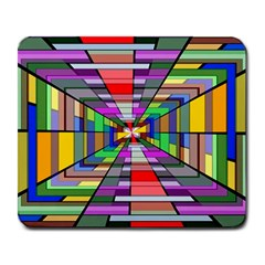 Art Vanishing Point Vortex 3d Large Mousepads