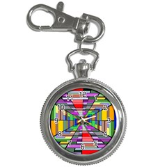 Art Vanishing Point Vortex 3d Key Chain Watches
