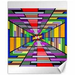 Art Vanishing Point Vortex 3d Canvas 16  x 20