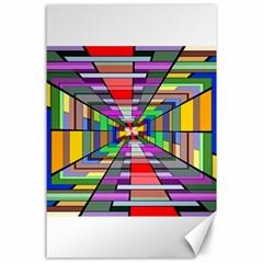 Art Vanishing Point Vortex 3d Canvas 24  X 36
