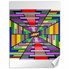 Art Vanishing Point Vortex 3d Canvas 36  x 48