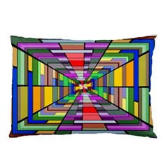 Art Vanishing Point Vortex 3d Pillow Case