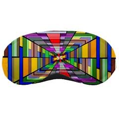 Art Vanishing Point Vortex 3d Sleeping Masks
