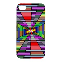 Art Vanishing Point Vortex 3d Apple Iphone 4/4s Hardshell Case