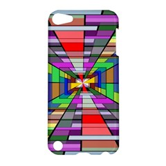 Art Vanishing Point Vortex 3d Apple Ipod Touch 5 Hardshell Case