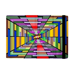 Art Vanishing Point Vortex 3d Apple Ipad Mini Flip Case