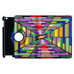Art Vanishing Point Vortex 3d Apple iPad 3/4 Flip 360 Case