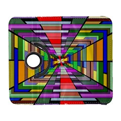 Art Vanishing Point Vortex 3d Galaxy S3 (Flip/Folio)