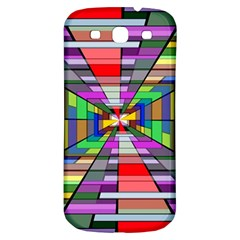 Art Vanishing Point Vortex 3d Samsung Galaxy S3 S Iii Classic Hardshell Back Case