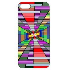 Art Vanishing Point Vortex 3d Apple Iphone 5 Hardshell Case With Stand