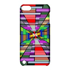 Art Vanishing Point Vortex 3d Apple iPod Touch 5 Hardshell Case with Stand