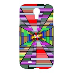 Art Vanishing Point Vortex 3d Samsung Galaxy S4 I9500/I9505 Hardshell Case