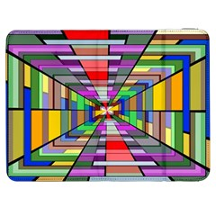 Art Vanishing Point Vortex 3d Samsung Galaxy Tab 7  P1000 Flip Case
