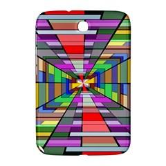 Art Vanishing Point Vortex 3d Samsung Galaxy Note 8 0 N5100 Hardshell Case