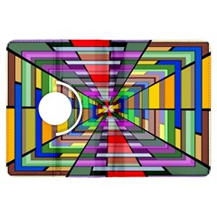 Art Vanishing Point Vortex 3d Kindle Fire Hdx Flip 360 Case