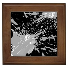 Art About Ball Abstract Colorful Framed Tiles