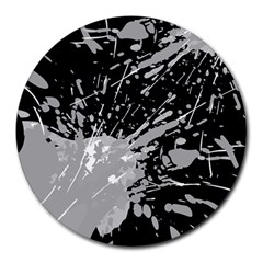 Art About Ball Abstract Colorful Round Mousepads