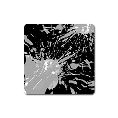 Art About Ball Abstract Colorful Square Magnet
