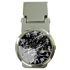 Art About Ball Abstract Colorful Money Clip Watches