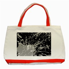 Art About Ball Abstract Colorful Classic Tote Bag (Red)