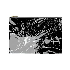 Art About Ball Abstract Colorful Cosmetic Bag (Large)