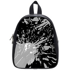 Art About Ball Abstract Colorful School Bags (small)