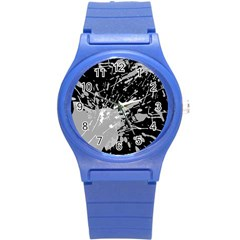 Art About Ball Abstract Colorful Round Plastic Sport Watch (s)