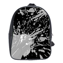 Art About Ball Abstract Colorful School Bags (XL)