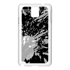 Art About Ball Abstract Colorful Samsung Galaxy Note 3 N9005 Case (white)