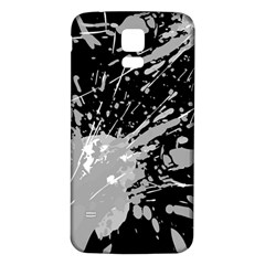 Art About Ball Abstract Colorful Samsung Galaxy S5 Back Case (white)
