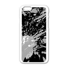 Art About Ball Abstract Colorful Apple iPhone 6/6S White Enamel Case