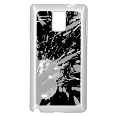 Art About Ball Abstract Colorful Samsung Galaxy Note 4 Case (White)