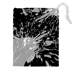 Art About Ball Abstract Colorful Drawstring Pouches (xxl)