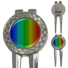 Spectrum Colours Colors Rainbow 3-in-1 Golf Divots