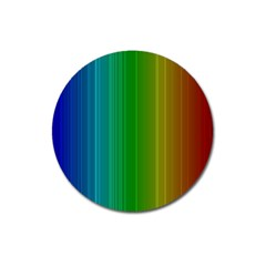 Spectrum Colours Colors Rainbow Magnet 3  (Round)