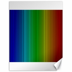 Spectrum Colours Colors Rainbow Canvas 18  X 24