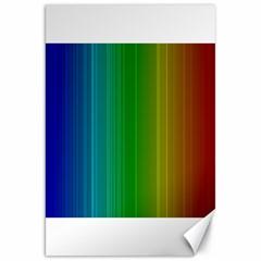 Spectrum Colours Colors Rainbow Canvas 20  x 30
